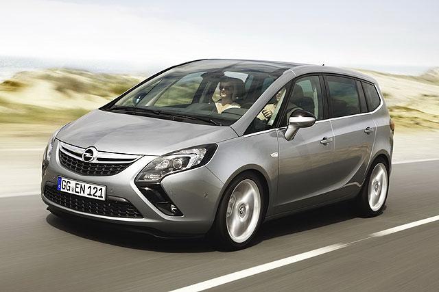 Itt az új Opel Zafira